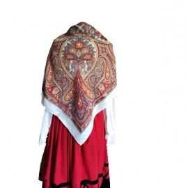 Mantón,  pañuelo mod. Cachemires