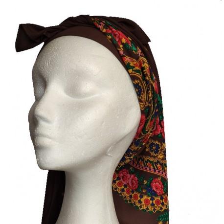 Pañuelo de cabeza mod. Rosal